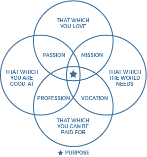 Venn Diagram of financial fitness elements